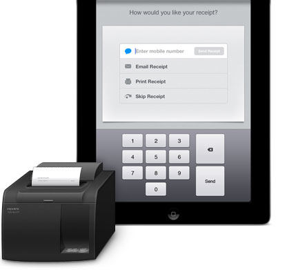 Apple iPad Compatible Receipt Printers