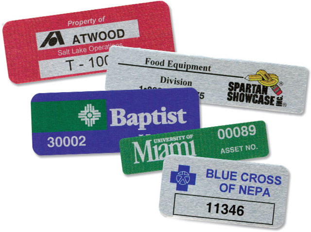 BCI Printed Foil Labels