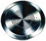 Bogen CG8A Round Aluminum Grille