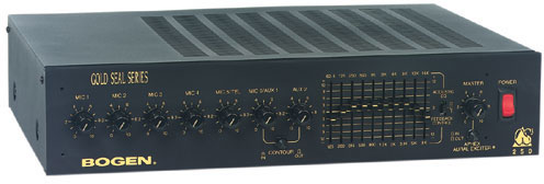 Bogen Gold Seal Series Mixer Amplifier