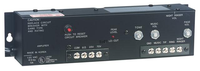 Bogen LU10WAMP Amplifier