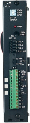 Bogen LUPCMZONE Paging Control System
