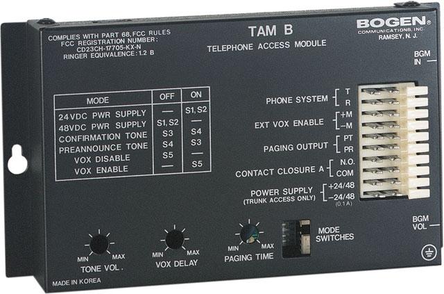 Bogen TAMB Telephone Access Module