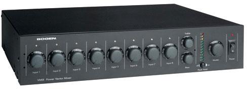 Bogen VMIX Power Vector Mixer-Pre-Amplifier