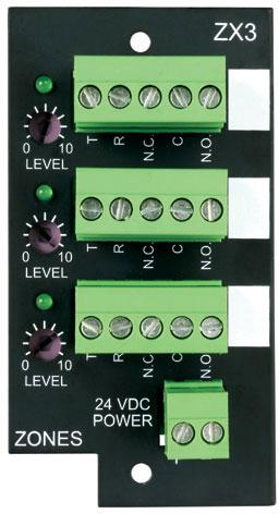 Bogen ZX3 3-Zone Expansion Module