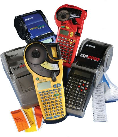 Brady Portable Label Printer Accessories