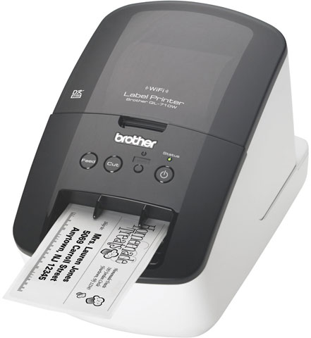 Brother QL-710W Printer