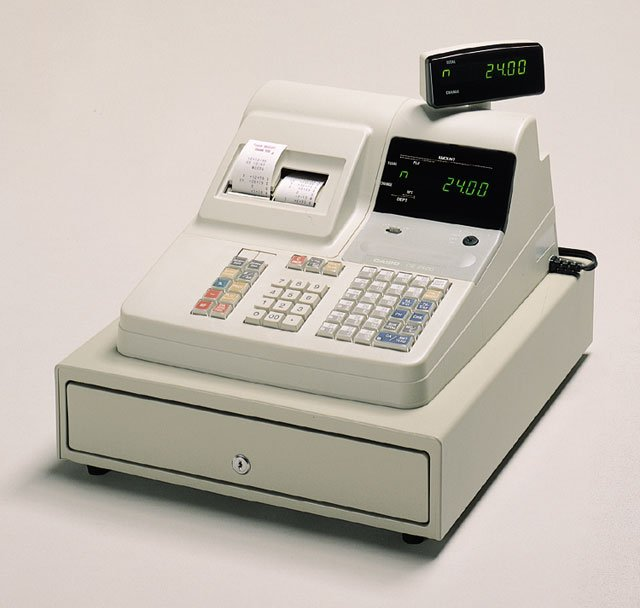 Casio CE-2400 Cash Register