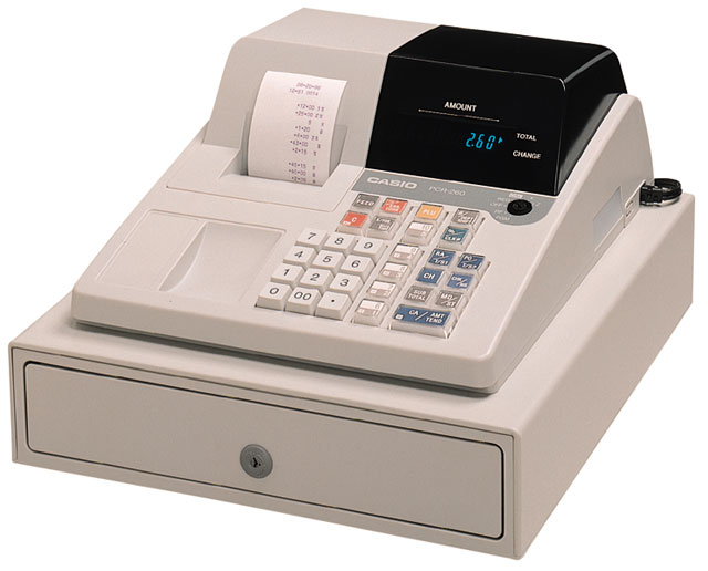 Casio PCR-260 Cash Register