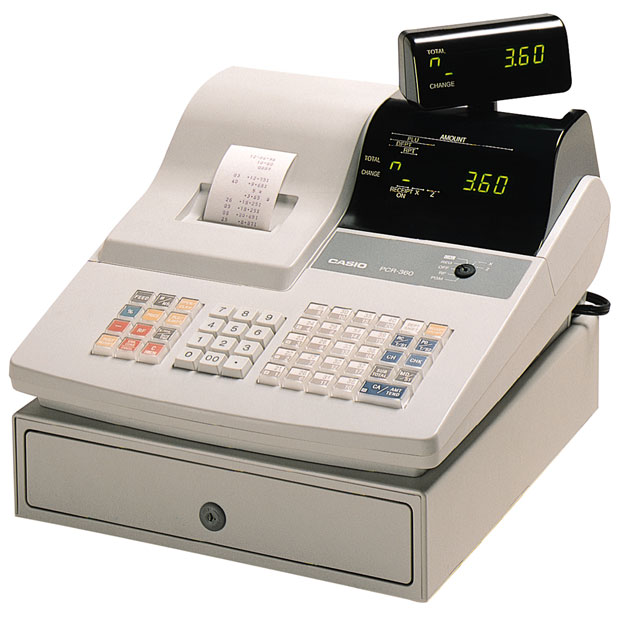 Casio PCR-360 Cash Register