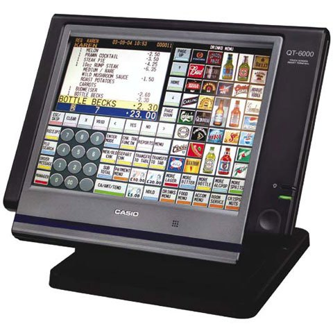 Casio QT-6000 POS Touch Computer