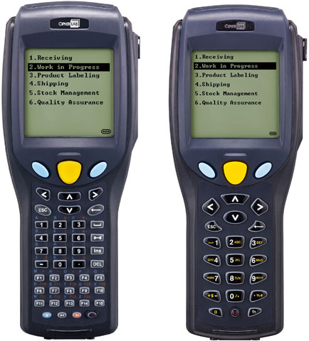 CipherLab 8700 Series Hand Held Computer