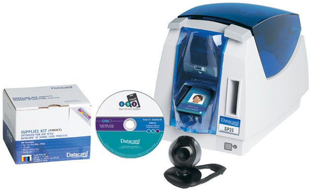Datacard 1-2-3 Easy ID Card System ID Card Printer System