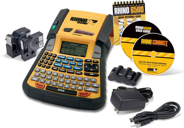 Dymo Rhino 6500 Portable Printer