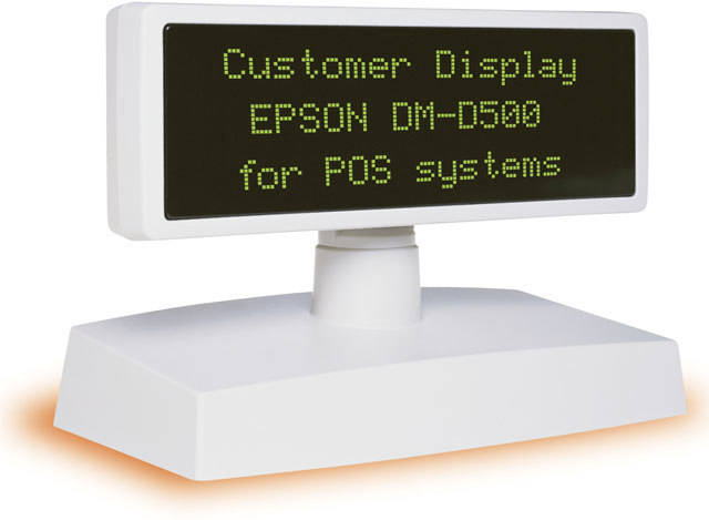 Epson DMD500 Pole Display