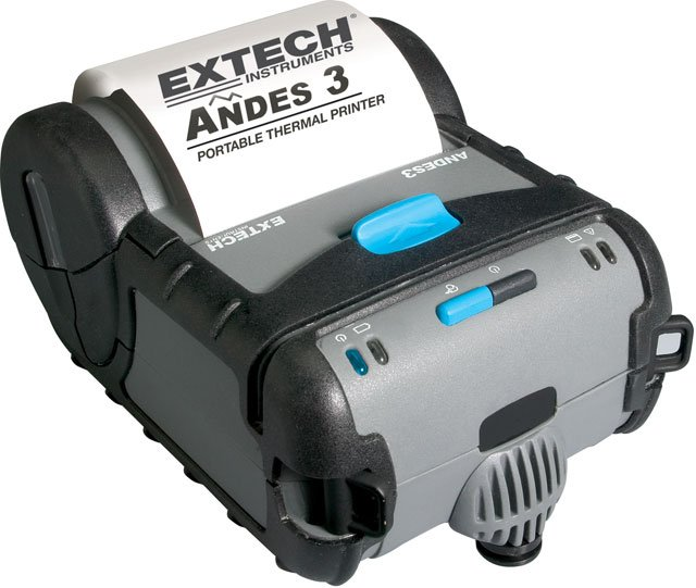 Extech Andes 3 Series Portable Printer