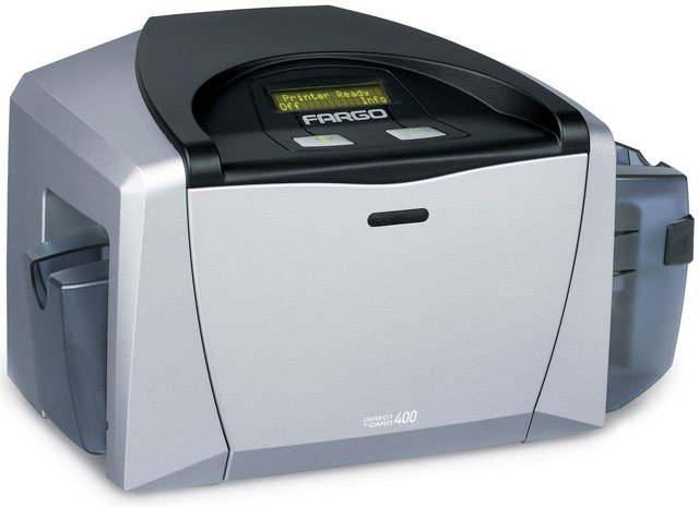 Fargo DTC 400 ID Printer