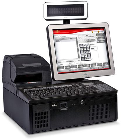Fujitsu TeamPoS 3600 Series POS Touch Computer