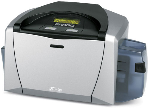 HID DTC 400e ID Printer