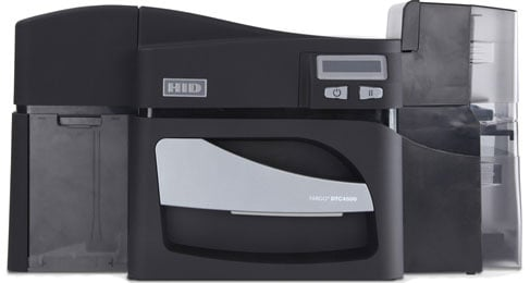 HID DTC 4500 ID Printer