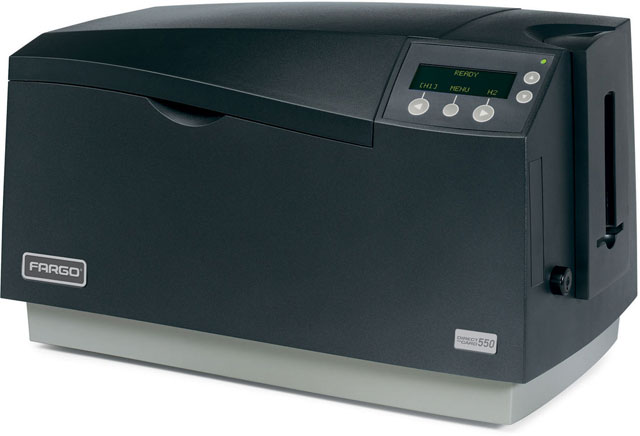 HID DTC 550 ID Printer