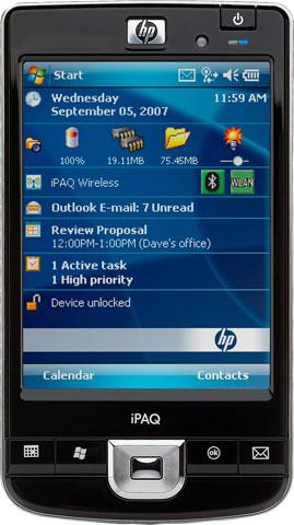 HP iPAQ  210 Hand Held Computer