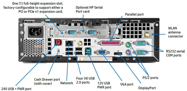 HP RP3 POS Touch Computer