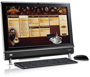HP Touch Smart 9100 Touch screen Monitor