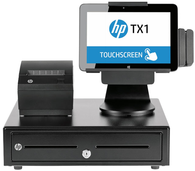 HP TX1 POS Solution POS System
