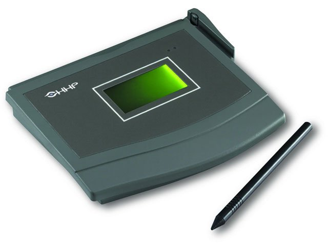 Hand Held TT1500 Signature Capture Pad