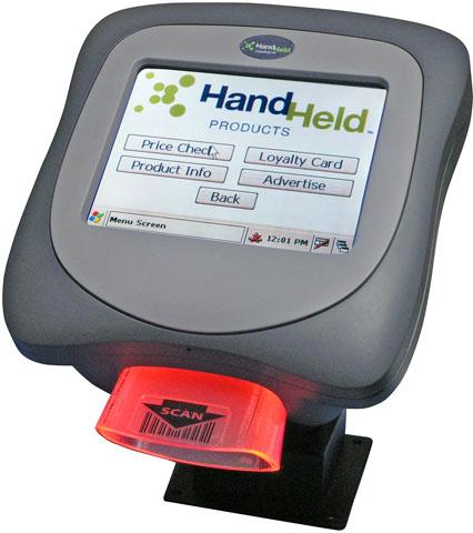 Hand Held Image Kiosk 8570 Terminal