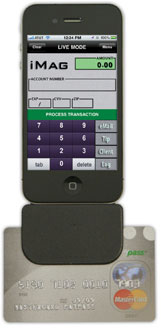 ID Tech Mobile MagStripe Reader Card Scanner