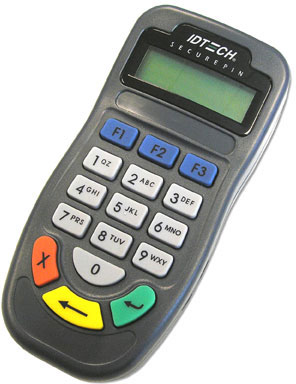 ID Tech SecurePIN Payment Terminal