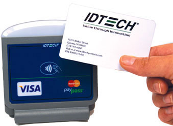 ID Tech Xpress 100 Card Scanner
