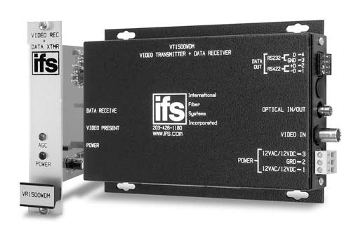 IFS VR1500WDM Video Transceiver
