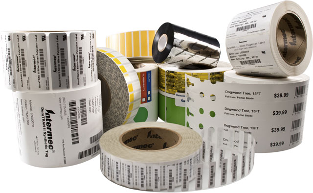 Intermec Duratran Gloss Polyester Label