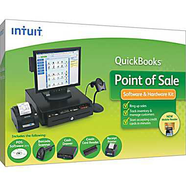 Intuit QuickBooks POS Pro POS Software