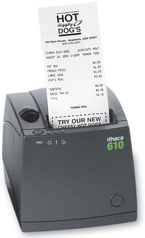 Ithaca 610 Printer