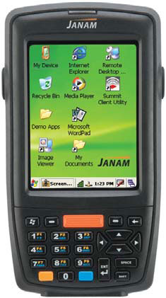 Janam XM 60+ AM Hand Held Computer