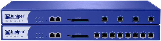 Juniper NetScreen-204 - NetScreen-208