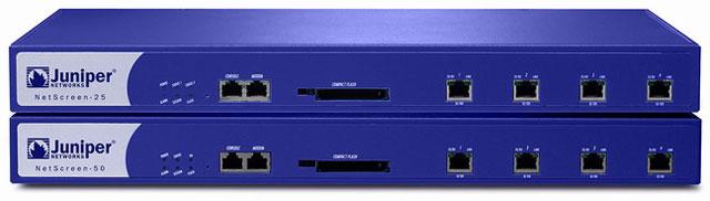 Juniper NetScreen-25 - NetScreen-50