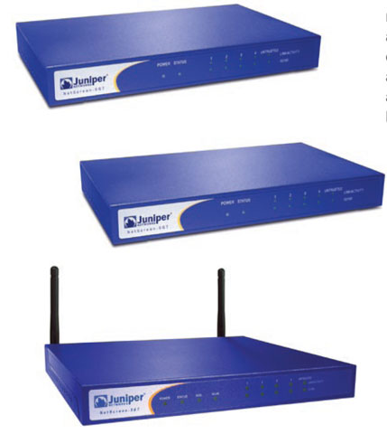 Juniper NetScreen-5 Series Accessories