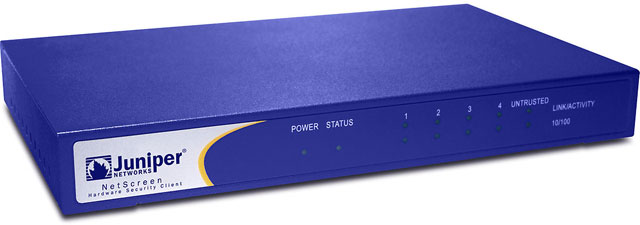 Juniper NetScreen-HSC Access Control System