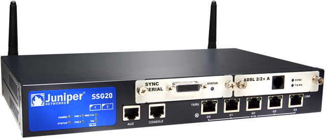 Juniper SSG20 Wireless Switch