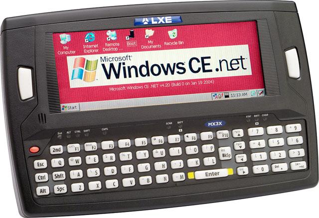 LXE MX3 Hand Held Computer
