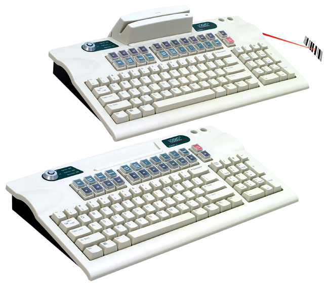 Logic Controls LK6000 Programmable QWERTY Keyboard