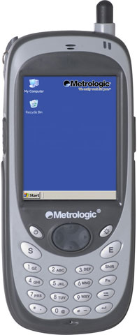 Metrologic SP5700 Optimus PDA Hand Held Computer