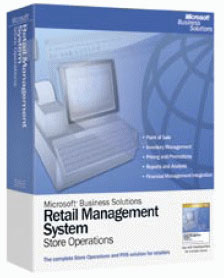 Microsoft Retail Management System for Specialty Apparel Retailers POS Software