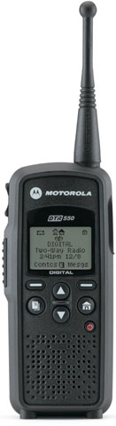 Motorola DTR550 Two-way Radio