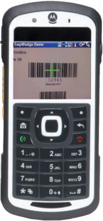 Motorola EWP 3000 Hand Held Computer
